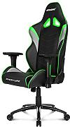 AKRACING Overture - Silla (Upholstered padded seat, Respaldo acolchado, Negro, Verde, Gris, Negro, Verde, Gris, Negro, cuero PU)