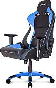 AKRACING ProX Gaming - Silla (cuero PU, Metal) Negro/ Blanco