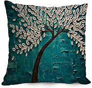 Artistdecor 18 X 18 Inches / 45 By 45 Cm Tree Cushion Cases ,each Side Ornament And Gift To Home Theater,play Room,adults,couch,divan,her