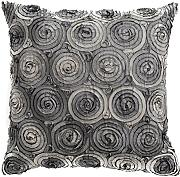 Produktbild: Avarada Triple Colour Floral Bouquet Throw Pillow Cover Decorative Sofa Couch Cushion Cover Zippered 16x16 Inch (40x40 cm) Grey by Avarada