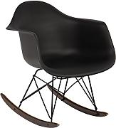 BALANCÍN EAMES RAR - SILLÓN MECEDORA TOWER Negro - (Elige Color) SKLUM