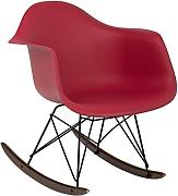 BALANCÍN EAMES RAR - SILLÓN MECEDORA TOWER Rojo Burdeos - (Elige Color) SKLUM