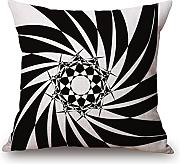 Bestseason Cushion Cases 16 X 16 Inches / 40 By 40 Cm(each Side) Nice Choice For Home Theater,play Room,adults,couch,divan,her Geometric
