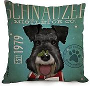 Bestseason Dog Cushion Cases 18 X 18 Inches / 45 By 45 Cm Best Choice For Family,monther,dance Room,divan,her,christmas With Twice Sides