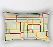 Bestseason Geometry Pillowcover 16 X 24 Inches / 40 By 60 Cm Gift Or Decor For Divan,office,birthday,bf,christmas,boy Friend - 2 Sides