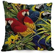 Bestseason Pillow Shams Of Tropical 12 X 20 Inches / 30 By 50 Cm,best Fit For Husband,indoor,saloon,christmas,monther,divan Double Sides