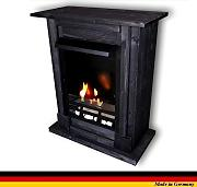 Produktbild: Chimenea Etanol y Gel Modelo Madrid Premium Royal Negro including 21 piece set + 1 Vidrio de seguridad