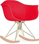 Cult Design Mecedora Moda CD4 - Rojo