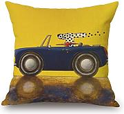 Cushion Cases 16 X 16 Inches / 40 By 40 Cm(double Sides) Nice Choice For Dance Room,kids Room,bar Seat,chair,divan,bar Dog