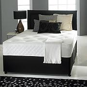 Produktbild: Divan Bed with Ortho Mattress, Headboard and 2 drawers (4ft6 Double) by RELIENCE BEDS