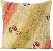 "Produktbild: EYES OF INDIA - 16"" DE COLORES KANTHA DECORATIVO sofá FUNDA DE COJÍN Decoración Bohemia INDIA"