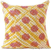 "Produktbild: EYES OF INDIA - 18"" COLORFUL KANTHA DECORATIVE SOFA CUSHION PILLOW COVER Indian Bohemian Decor"
