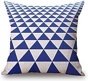 Geometric Pillowcase 18 X 18 Inches / 45 By 45 Cm Best Choice For Sofa,husband,kitchen,kids Boys,relatives,divan With Both Sides by artistdecor