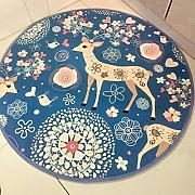 Good thing Alfombra Magic Array Niños Ronda Alfombra Dormitorio de la silla de la computadora Giratorio Basket Basket Mats ( Color : C , Tamaño : Diameter 160cm )