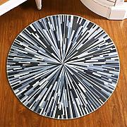 Good thing Alfombra Moderno Simple Circular Alfombra Ordenador silla Almohada Sala de estar Tabla de café Dormitorio Alfombra ( Color : 60*60cm )