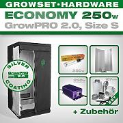 Produktbild: Growbox GrowPRO 2.0 S Grow Set Eco - Kit de armario de cultivo (250 W)