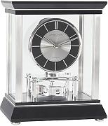 London Clock Company 3096 - Reloj de chimenea, color negro