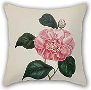 Loveloveu 16 X 16 Inches / 40 By 40 Cm Flower Throw Pillow case/Fundas para almohada ,twin Sides Ornament And Gift To Sofa,relatives,divan,bedding,adults,relatives