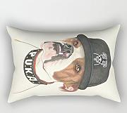 Loveloveu Dogs Pillow case/Fundas para almohada 18 X 26 Inches / 45 By 65 Cm Gift Or Decor For Family,divan,wife,home Theater,saloon,bedroom - Each Side