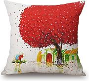 Loveloveu Pillow Shams 18 X 18 Inches / 45 By 45 Cm(2 Sides) Nice Choice For Her,divan,dinning Room,gril Friend,family,son Plant