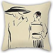 Loveloveu Pillowcase Of Oil Painting Francis Campbell Boileau Cadell - The Parting 18 X 18 Inches / 45 By 45 Cm,best Fit For Divan,dinning Room,home Theater,her,bf,outdoor Two Sides