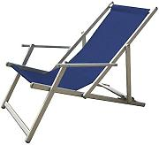 Papillon 8044150 - Tumbona playa aluminio plegable spa, color azul