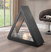 Produktbild: Piedras Chimenea movible bioetanol, triangular, negro