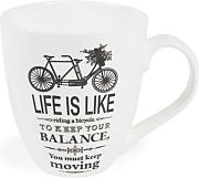Taza bicicleta de porcelana IMAGINE