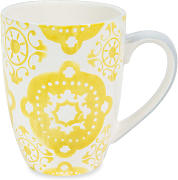 Taza de loza YELLOW