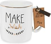 Taza de porcelana MAKE A WISH PAN