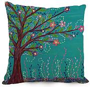 Tree Cushion Cases 12 X 20 Inches / 30 By 50 Cm For Gf,divan,festival,kids Boys,drawing Room,girls With Each Side