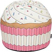 Woouf! Cupcake Pink - Puf con cremallera