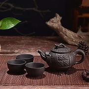 150ML Yixing Teapot Purple Clay Kung Fu Tea Set