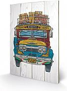 1art1® Set: Buses, Colombian Bus, Barry Goodman