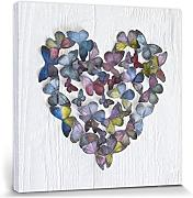 1art1® Set: Corazones, Butterfly Heart, Howard