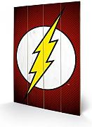 1art1® Set: Flash, Logo, DC Comics Cuadro De