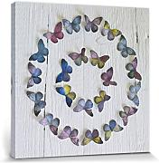 1art1® Set: Mariposas, Butterfly Circle, Howard