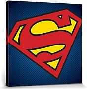 1art1® Set: Superman, Superman Symbol, DC Comics