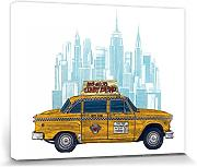 1art1® Set: Taxis, Yellow Cab New York Cuadro,