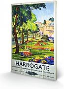 1art1® Set: Vintage, Harrogate SPA Town, Travel