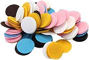 200 x Mixto Color 30mm Fieltro Apliques Círculo Accesorio para Costura Bolsa