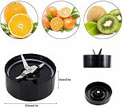 2Pcs 250W Juicer Blade Base, Cross Blade Blender