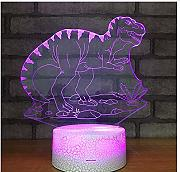 3D Tyrannosaurus Night Light Illusion Lámpara