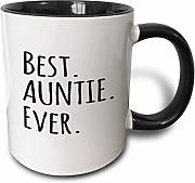 3dRose Best Auntie Ever Family Gifts for Relatives