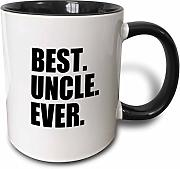 3dRose Best Uncle Ever Family Gifts for Relatives