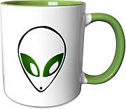 3dRose Mark Andrews ZeGear Cool - Alien - tazas