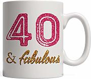 40 & Fabulous - Awesome Forty Years Old