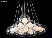 5151BuyWorld Ideal Glass Bubble Modern Led Luces