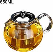650ml 960ml 1300ml Heat Resistant Glass Teapot