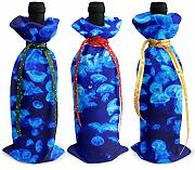 87569dwdsdwd Blue Jellyfish - Funda para Botella